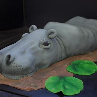 Muriel the hippo