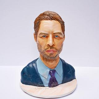 Paul Walker Bust Cake!