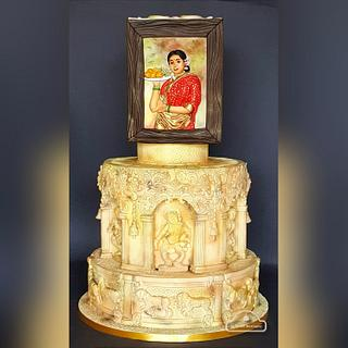 Incredible India Cake Collaboration - Ode to Indian art