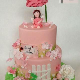 "My cake collaboration peice for ""pretty in pink for yasmine"""