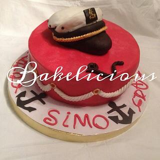 Navy cake - Cake by Sammar Yousry