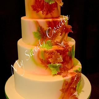 Autumn Cake - Cake by Cosette