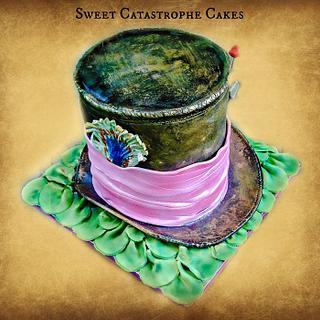 Mad Hatter's HAT cake