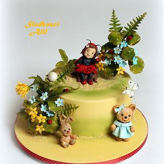 Ladybug Cake - Cake by Alll