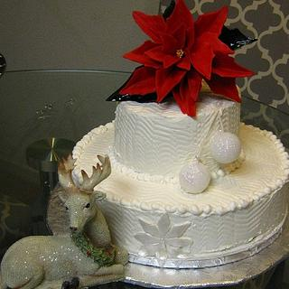 Holiday potluck cake