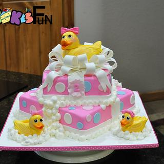 Duck Birthday Cake - Cake by Cakes For Fun