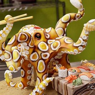 OctoChef - Cake by Avalon Cakes School of Sugar Art