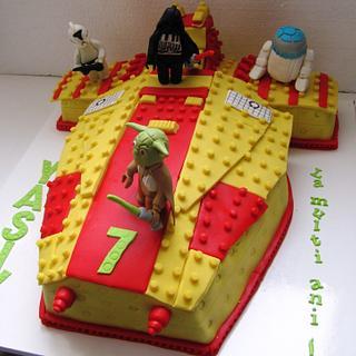 CAKE LEGO STAR WARS - Cake by COMANDATORT