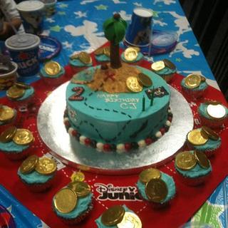 Pirate's Treasure Cake