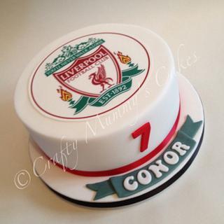 Liverpool Cake - Cake by CraftyMummysCakes (Tracy-Anne)