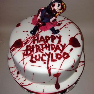 Zombie/Horror Cake