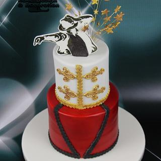 Michael Jackson theme for Sasha's 16th  - Cake by Suzanne Readman - Cakin' Faerie