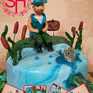 Fisherman cake 2