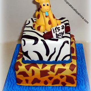 Baby Shower Animal Print
