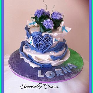 Lorna's Birthday Cake