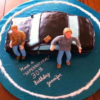 Supernatural Cake - Cake by StephS