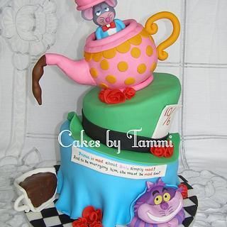 Topsy Turvy Alice in Wonderland