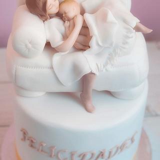 Maternity cake - Cake by Carmen