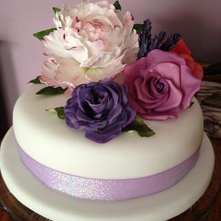 Mum & Dads Anniversary Cake