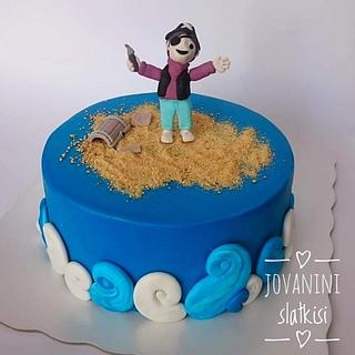 Pirate cake - Cake by Jovaninislatkisi
