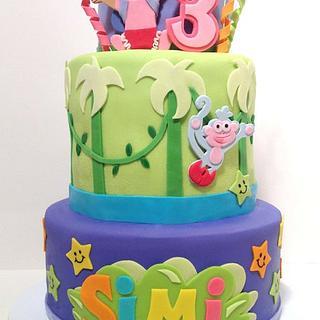 Dora Birthday Cake - Cake by BumbleBake