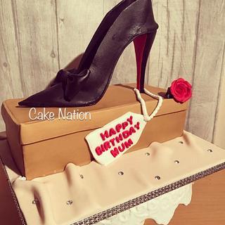 Louboutin High Heel Shoe Cake  - Cake by Cake Nation