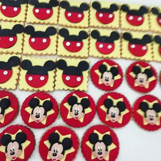 Michey mouse cookies