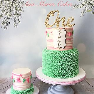 ONE birthday - Cake by Ann-Marie Youngblood