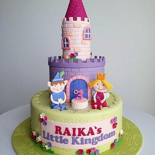 Ben & Holly little kingdom - Cake by Couture cakes by Olga