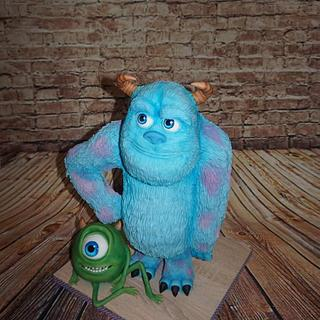 Monsters inc 3D cakes