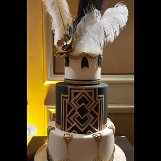 The Gatsby - Cake by Ester Siswadi