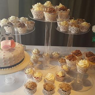 Love cake and cupcakes