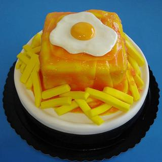 Francesinha- A popular snack in northern Portugal