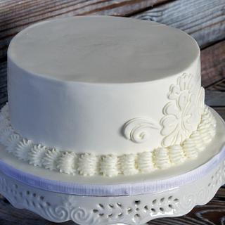 Wedding white on white