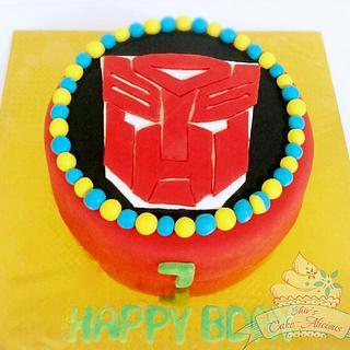 Autobots cake