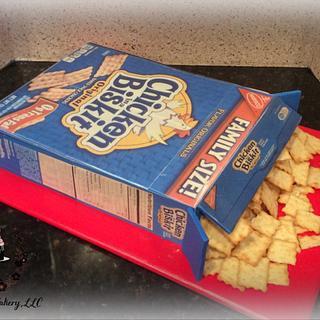 Box of Crackers Cake