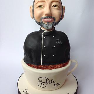 Il re dei caffè  - Cake by SugarRose