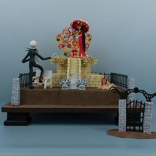 La Muerte's Pumpkin (Showpiece) - Cake by Prima Cakes and Cookies - Jennifer