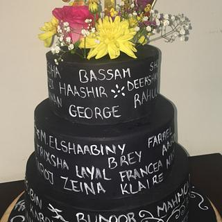 Prom cake - Cake by Baria