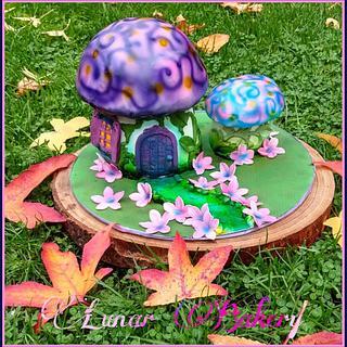 Toadstool Fairy Cake