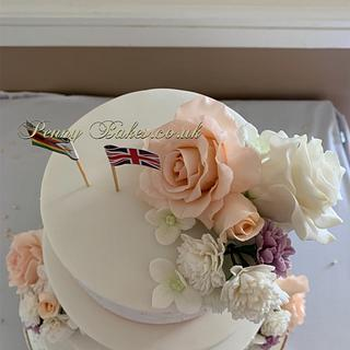 Classical wedding cake - Cake by Penny Sue