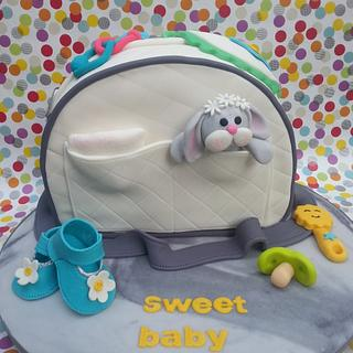 Nappy/Diaper Bag - Cake by Kylie @ Nothing Sweeter Than Cake