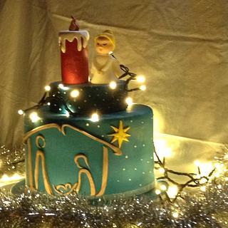 Nativity - Cake by Alessandra Favola di Zucchero