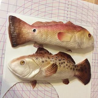 Red snapper and speckled trout