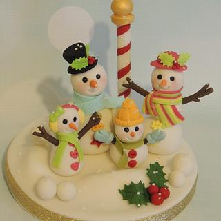 Snow family!