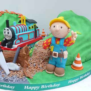 Thomas and Bob - Cake by Hilz