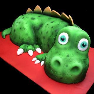Baby dinosaur cake - Cake by Martina Kelly