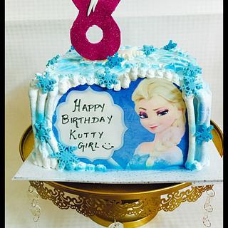 Frozen cake - Cake by thefrostgoddess