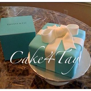 Tiffany & Co Box - Cake by Angel Chang