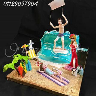 Kitesurfing & Beach Cake